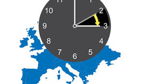 Daylight Saving Time starts in Europe on March 29