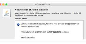USPTO and Java v8 update 101 build 13
