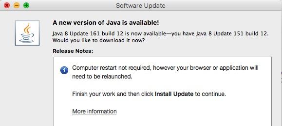 Download Java 8 Update 161 {Canarias Deportiva}