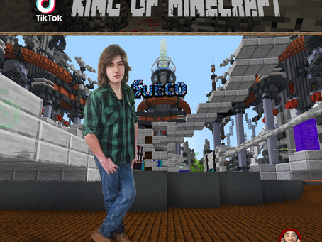"Meet Tiktok's ""King of Minecraft"" Zachary Alexander Rice aka @ZachRiceTV"