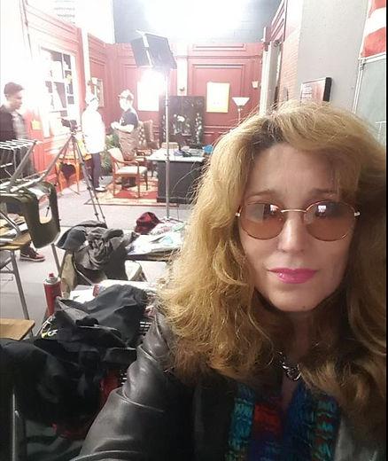 McKenzie Van Dorne-Rice on film set.JPG