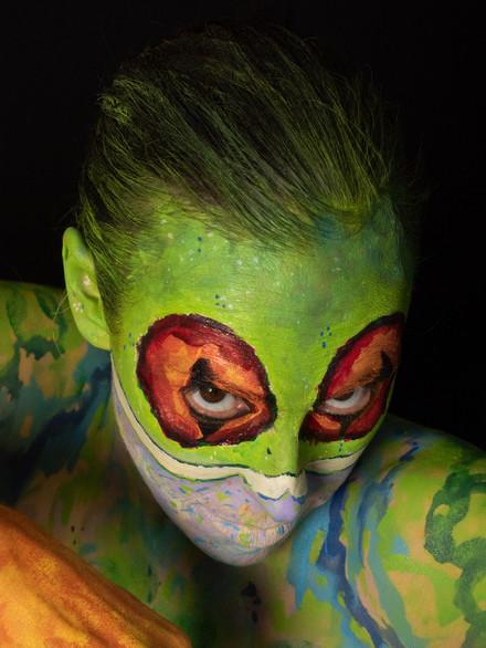 Zoomorphic #37 (Tree Frog), 2021