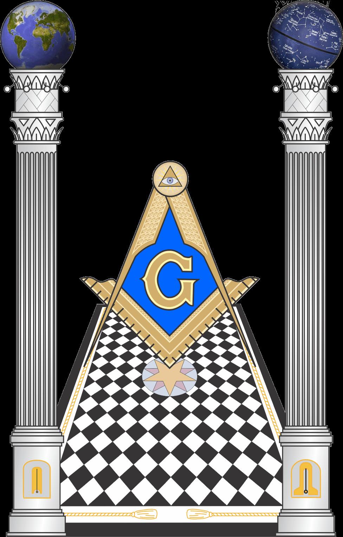 Masonic Columns 001