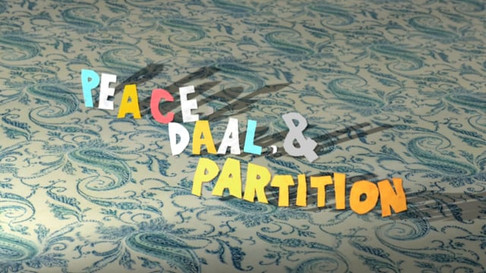 Peace, Daal, & Partition (2015)