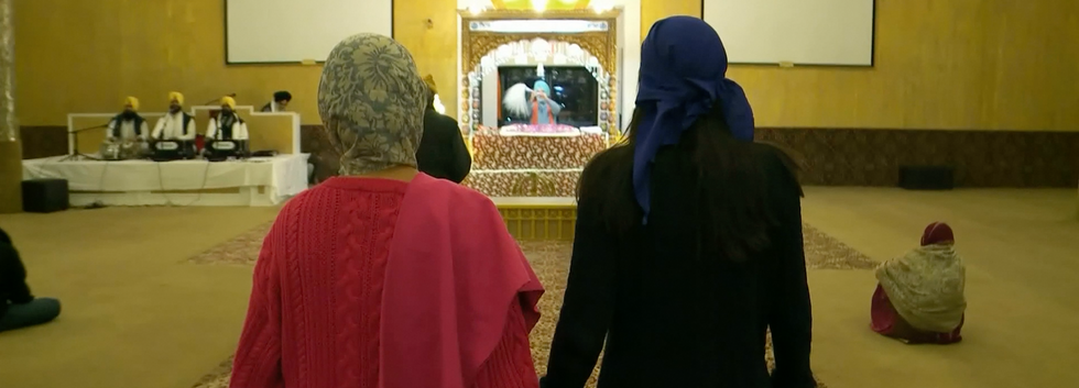 Visiting the Sikh Temple