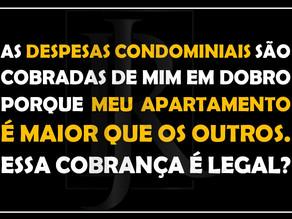 #QUESTÃO IMOBILIÁRIA 24 – rateio de despesas condominiais