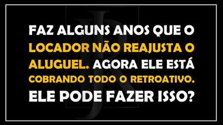 #QUESTÃO IMOBILIÁRIA 23 - reajuste do aluguel