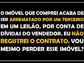 #QUESTÃO IMOBILIÁRIA 14 – contrato sem registro
