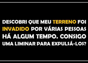 #QUESTÃO IMOBILIÁRIA 03 – reintegração de posse