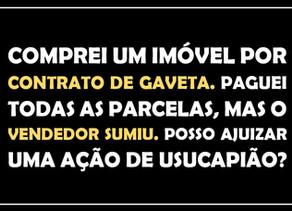 #QUESTÃO IMOBILIÁRIA 01 - adjudicação e usucapião