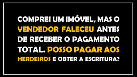 #QUESTÃO IMOBILIÁRIA 15 – partilha