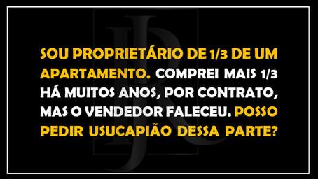 #QUESTÃO IMOBILIÁRIA 27 – Usucapião