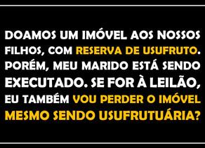 #QUESTÃO IMOBILIÁRIA 06 - usufruto e leilão