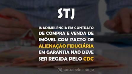 STJ – Inadimplência em contrato de compra e venda de imóvel com pacto de alienação fiduciária em gar