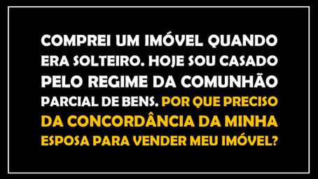 #QUESTÃO IMOBILIÁRIA 19 – outorga conjugal