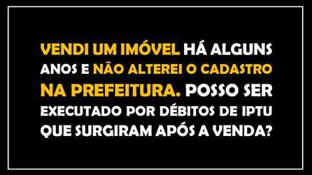 #QUESTÃO IMOBILIÁRIA 10 – execução fiscal