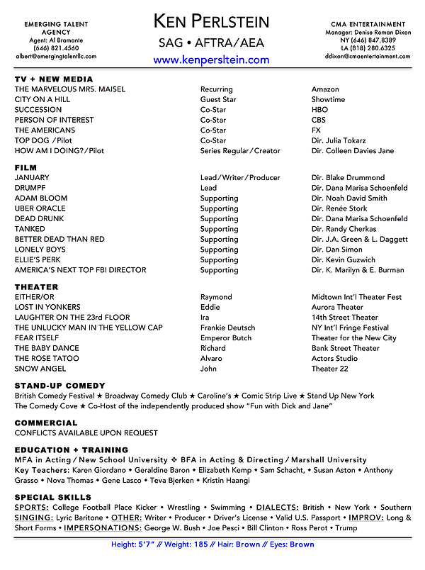 Ken Perlstein 2019 Resume.png