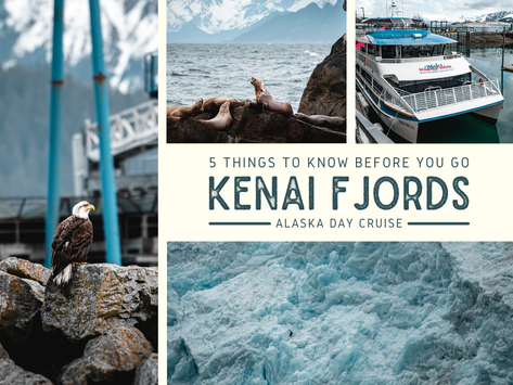 5 Things to Know Before You Go - Kenai Fjords Alaska Day Cruise