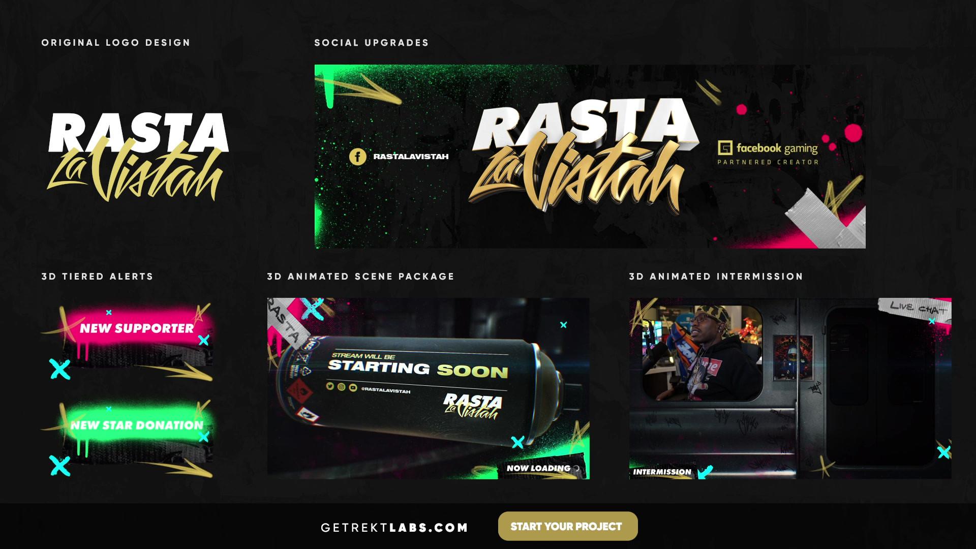 RastaLaVistah - Portfolio (HD High Bitra