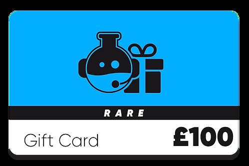 Rare Gift Card - £100
