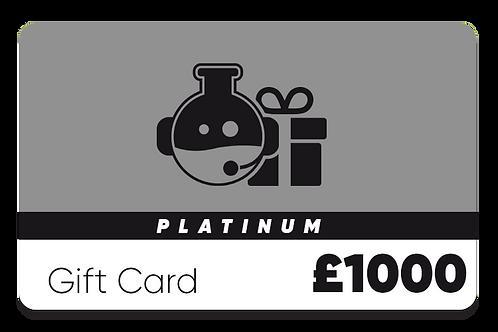 Platinum Gift Card - £1000