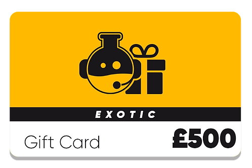 Exotic Gift Card - £500