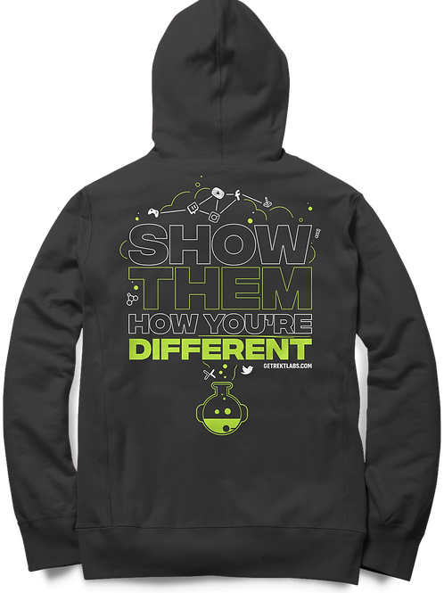 """""""Show Them How You're Different"""" Ltd Edition Comfort Hoodie"""