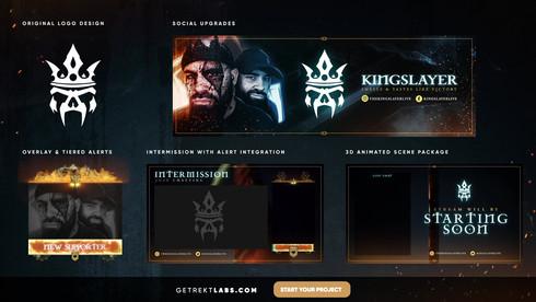 Kingslayer - Portfolio (HD High Bitrate)