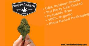 Trust The Earth Hemp CBD & CBG Flower and All Purpose Oil.
