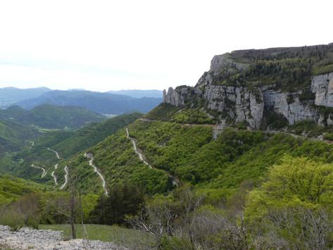 Mai...Col du Rousset : porte du Vercors...