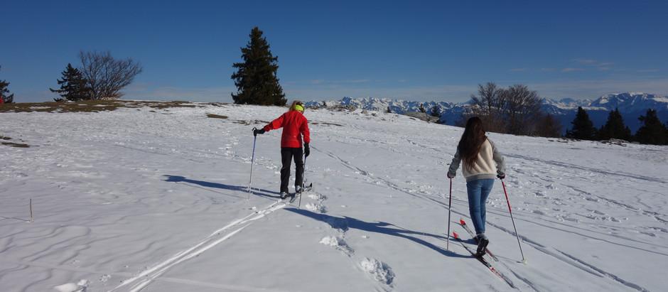 Piste Paronamique de La Molière : Si on cherche la neige...on la trouve ...et elle est délicieuse !