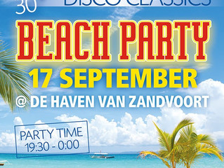 Zaterdag 17 september - 30up Swingsteesjun - Zandvoort ft. DJ XLR with Live Percussion...