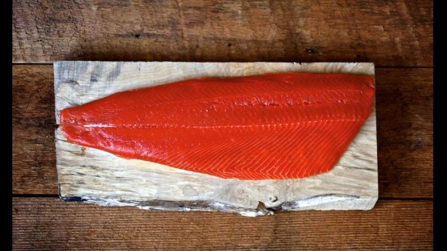 sockeye salmon whole filet