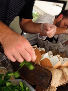 Chef Simon Wallace and Nico