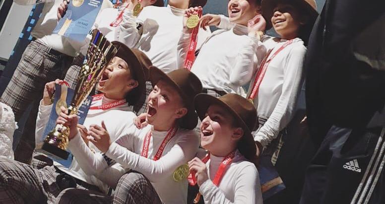 Runnaz Kids Nederlands kampioen streetdance voor kinderen