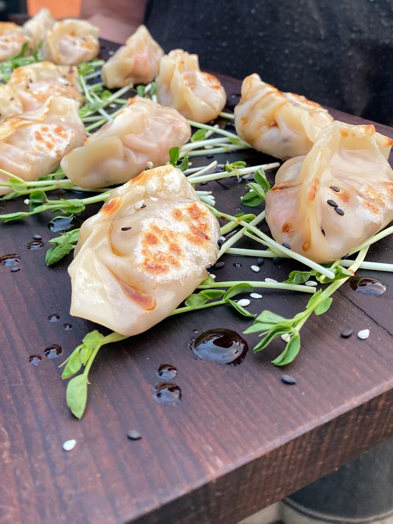 Gyoza Homemade Filled With Pork Belly Ginger & Shityaki Mushroom