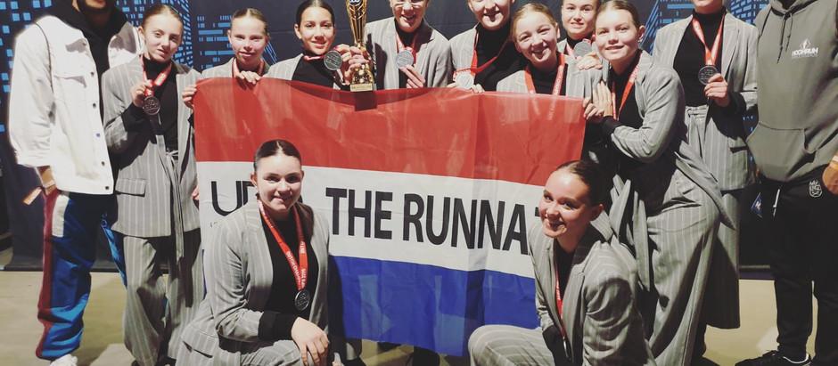THE RUNNAZ behaald silver bij de Nederlands kampioenschap van dansbond UDO.