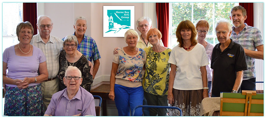 Herne Bay Arts Group, Herne Bay, art, group, members
