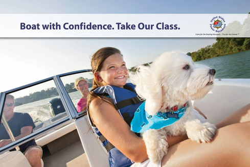 Take our nationally recognized boating class