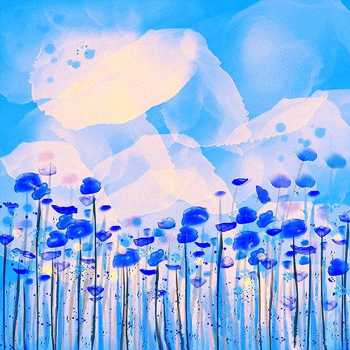 Flowerfield Blue