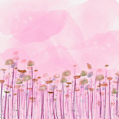 Flowerfield pink