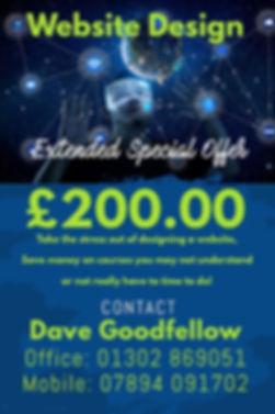 Dave Goodfellow Website Design