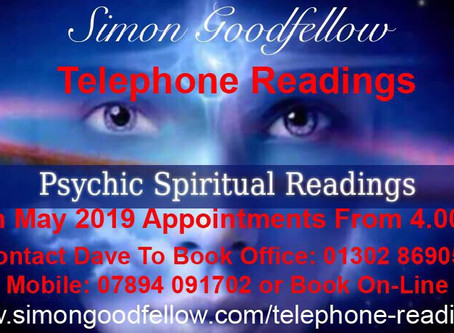 Book Your Spiritual Telephone Reading