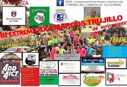 cartel III Trial Extremo Marcos Trujillo