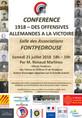 Conférences, exposition et visite à Fontpédrouse pendant l'été