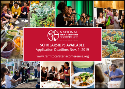 Scholarships Open for 10th National Farm to Cafeteria Conference.