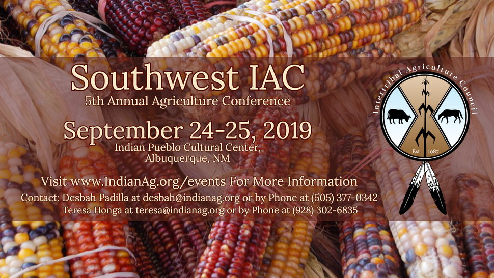 5th Annual Southwest IAC Agriculture Conference