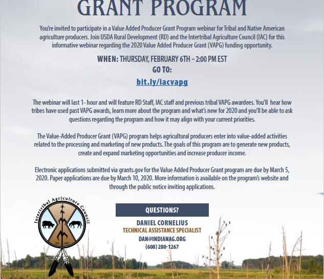 USDA Rural Development Webinar