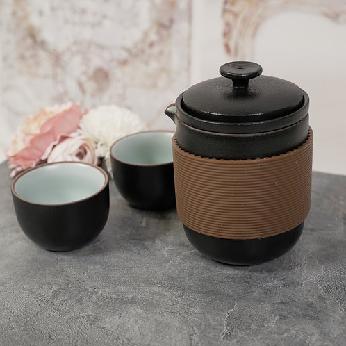 "Travel Set ""Zen"" Tea for Two"