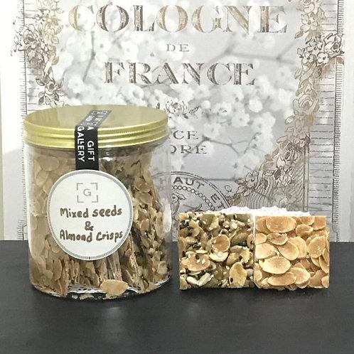Almond & Mixed Seeds Crisps